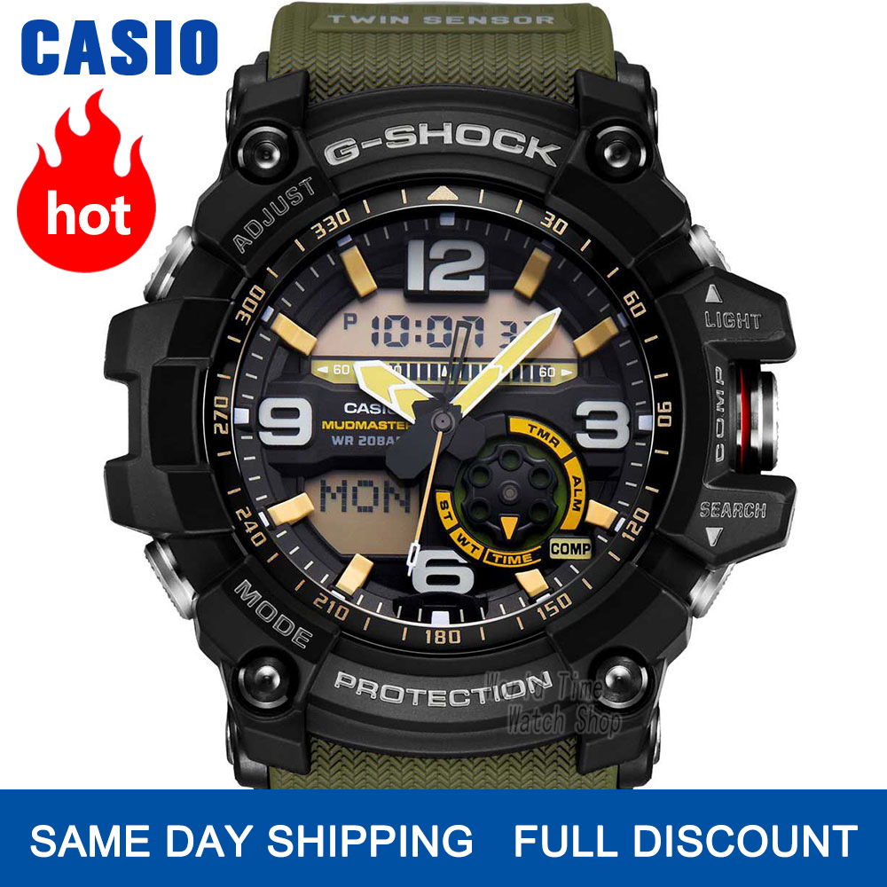 Casio Watch G-SHOCK Watch Men Top Luxury Set Military LED Relogio Digital Watch Sport 200m Waterproof Quartz Men Watch Masculino