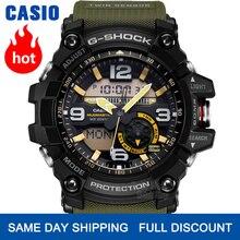 Đồng hồ Casio Đồng hồ đeo tay nam G SHOCK thương hiệu sang trọng LED đồng hồ đeo tay quân sự kỹ thuật số Đồng hồ đeo tay thể thao không thấm nước Đồng hồ lặn sáng Twin Cảm biến kỹ thuật số la bàn g Shock đồng hồ nam