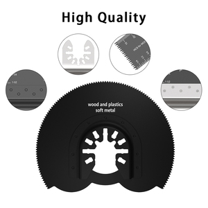 Image 3 - 56 Pcs Oscillating Tool Saw Blades for Renovator Power Tools for Fein Multimaster Dremel Electric Tools Accessories Circular