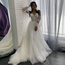 Eightale с открытыми плечами свадебное платье 2020 Аппликации