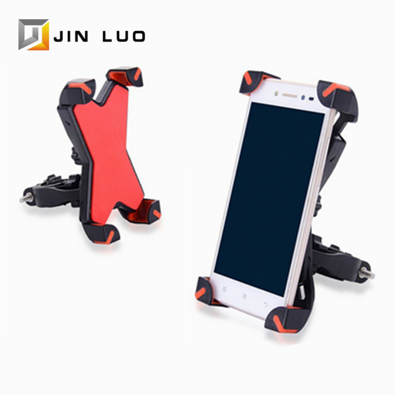 360 Degree Rotation <font><b>Bicycle</b></font> Phone <font><b>Holder</b></font> MTB Road Bike Mobile Support Adjustable Mount Stand Front <font><b>Smartphone</b></font> Rack Accessories image
