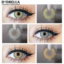 D'ORELLA 1 Pair(2pcs) Color Contact Lenses For Eyes Anime Cosplay Colored Lenses  Multicolored Lenses Contact Lens Beauty Makeup