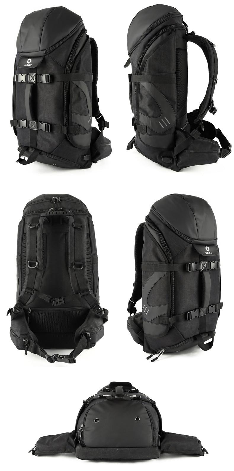 grande capacidade saco do portátil mochila multifuncional