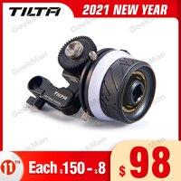 Tilta FF T06-Sistema de Control de lente inalámbrico, MINI Motor de enfoque de seguimiento, MB-T15 caja mate para cámara BMPCC 4K VS Core N Nano