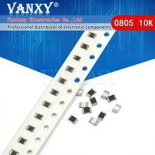 300PCS 0805 SMD Resistor 1% 10K ohm  1/8W 103