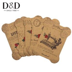 Image 1 - 100 個紙糸カード刺繍糸ボビンため収納ホルダークロスステッチ紙ボード