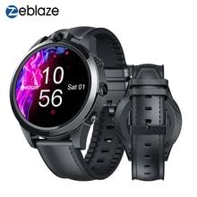 Zeblaze ثور 5 برو ساعة ذكية معدل ضربات القلب ضغط الدم مكالمات الفيديو سرعة رصد نظام تحديد المواقع الرياضة تتبع 4G LTE SmartWatch