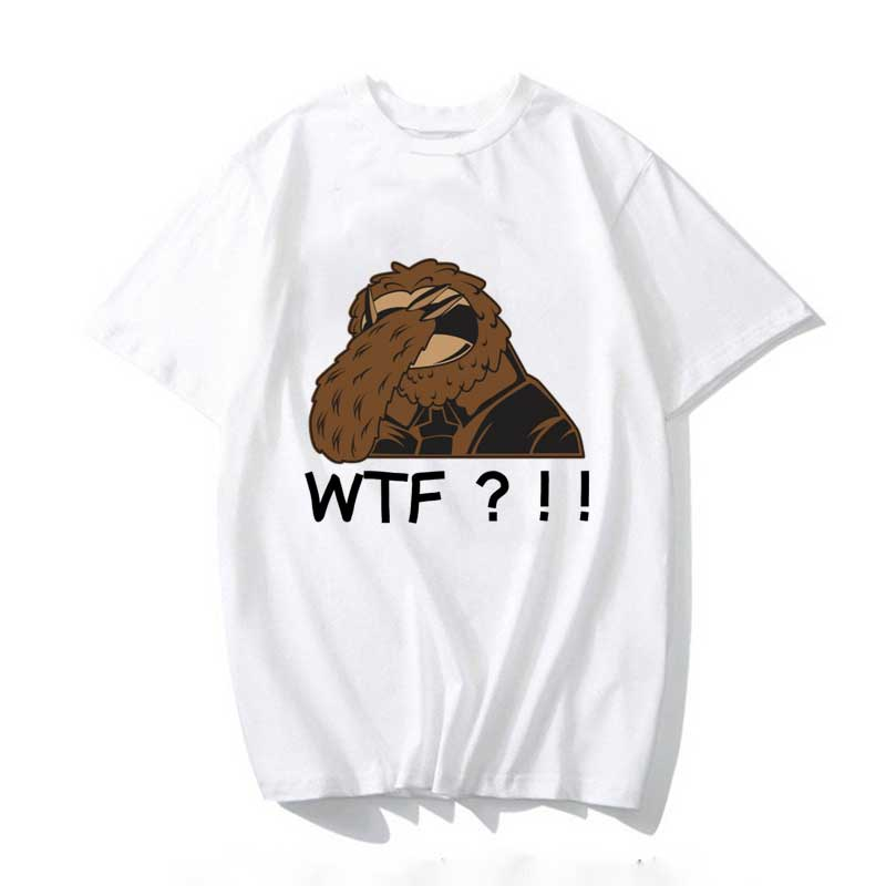 Sloth WTF TShirt 2020 Women T-shirt Aesthetics Graphic Short Sleeve Cotton Polyester T Shirts Female Camisetas Verano Mujer
