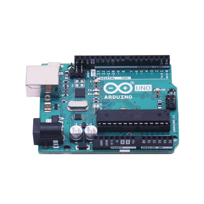 New Official UNO R3 Microcontroller Genuine Learning Development Control Board USB Cable Compatible For Arduino UNO R3