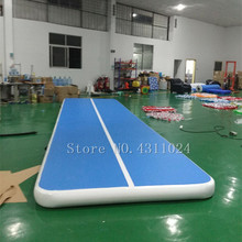 Free Shipping 12x1x0.2m Inflatable Gymnastics AirTrack Tumbling Air Track Floor Trampoline Electric Pump for Home Use/Training