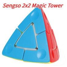 Cube 2x2 Mastermorphix Puzzle 3x3-Tower Shengshou 3x3x3 2x2x2 Rice Dumpling