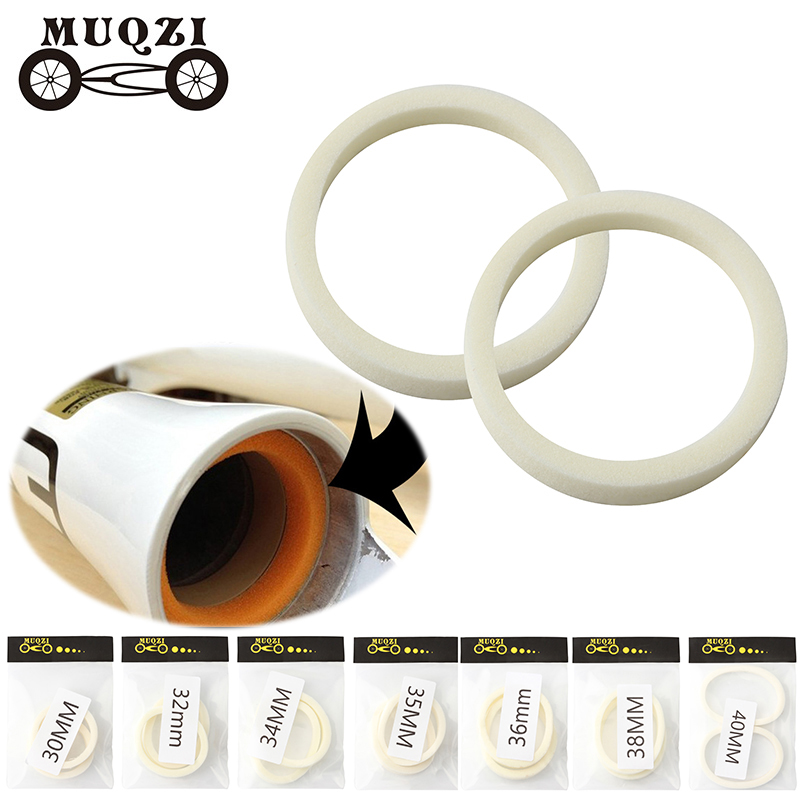 2Pcs Bicycle front fork sponge ring oil foam absorb seal 30//32//34//35//36//38//NWUS