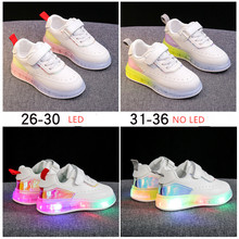 2020 spring summer children s fashion sneakers new boys girls sport shoes shellfish sneakers casual white