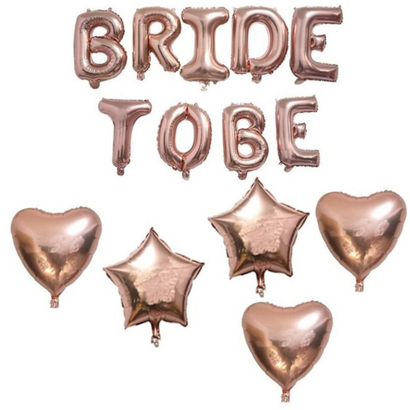 Wedding Decoration Bride To Be Bachelorette Party Supplies Team Bride Photo Props Set Sash Balloon Veil Hen Party Bridal Shower in Party DIY Decorations from Home Garden
