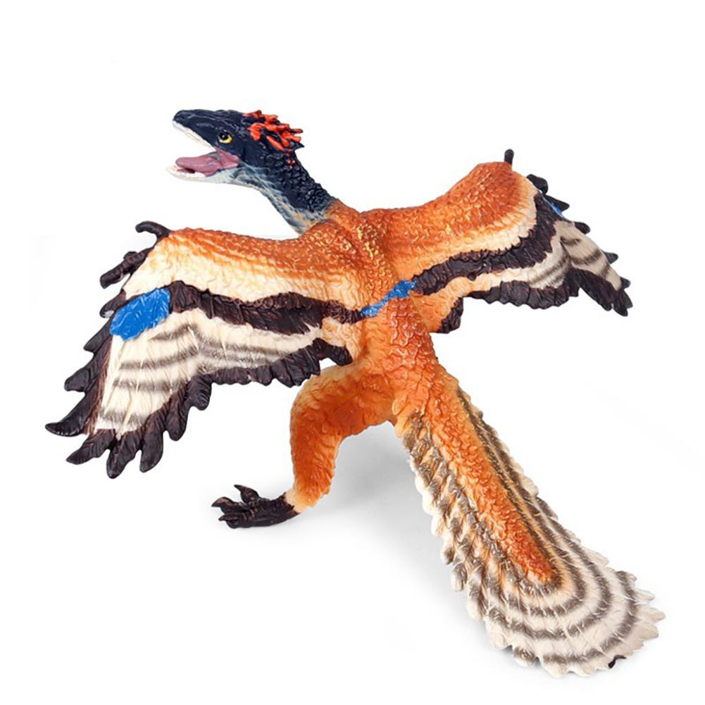 High Simulation Archaeopteryx Dinosaur Ancient Animal Model Desk Decor Kids Toy