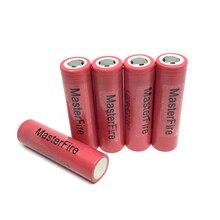 цена на MasterFire 5pcs/lot Original LG ICR18650HE2 2500mah lithium 18650 battery HE2 rechargeable batteries 30A for E-cigarettes