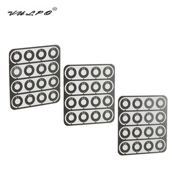 VULPO 01.mm 0.2mm 0.3mm Stainless Steel Super Precision Shim Set For Airsoft AEG Gearbox Hunting Paintball Accessories