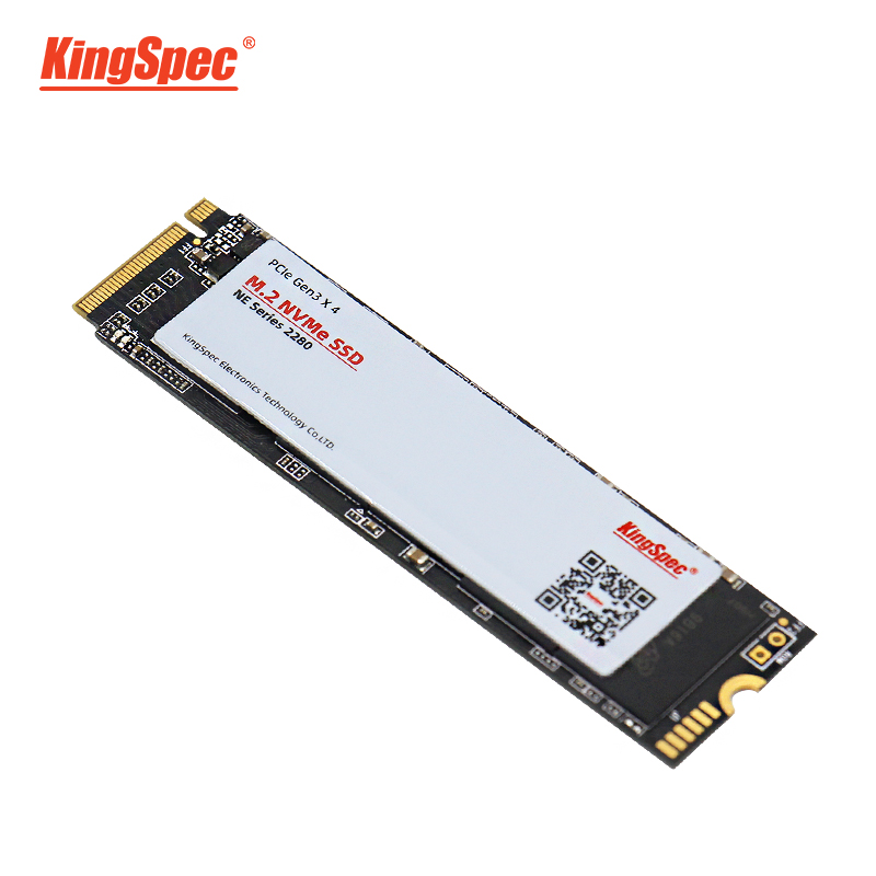 <font><b>KingSpec</b></font> M.2 PCI-e NVMe <font><b>SSD</b></font> <font><b>120GB</b></font> 128GB Solid State Disk <font><b>SSD</b></font> M2 NE-128 Internal 2280 Hard Drive HDD for Laptop Tablets Desktops image