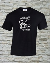 Sonor – T-Shirt tambour One imprimé, taille et couleur au choix (2)