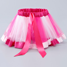 Party Dance Rainbow Tulle dress Girls Clothes Children Clothing Baby Girl clothes Princess Mini Petti  New Tutu