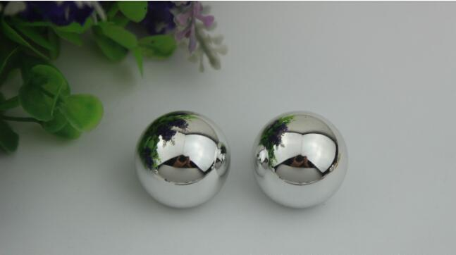 (10 Pcs/lot) Factory Direct Luggage Handbag Hardware Accessories Diameter 2.5cm Handbag Decorative Ball