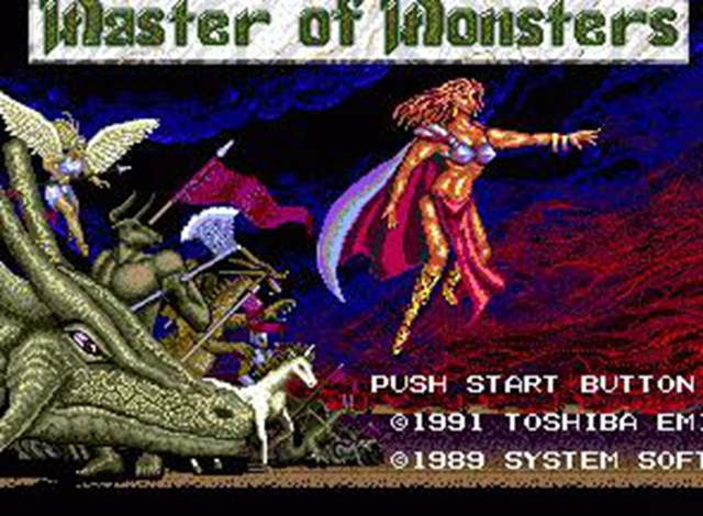 MASTER OF MONSTERS Top quality 16 bit Sega MD game Cartridge for Megadrive Genesis systems image