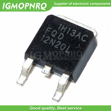 10 Pcs FQD12N20L TO252 FQD12N20LTM To-252 FQD12N20 12N20L Livello Logico 200V N-Channel Mosfet(China)