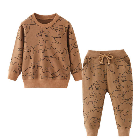 jumping metros boutique bebe meninos conjuntos de roupas outono inverno menino conjunto ternos do esporte