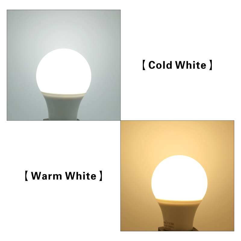 Купить с кэшбэком 6PCS LED Bulb E27 LED Lampada Ampoule Bombilla 3W 6W 9W 12W 15W 18W 20W LED Lamp Light 220V Cold/Warm White SMD2835 LED Lights