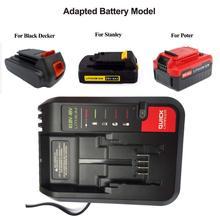 20V Charger PCC692L PCC691L For Black & Decker/PORTER-CABLE/Stanley Lithium-ion Battery PCC680L/681L/682L/685L/685LP LBXR20/2020 fast charger replacement for porter cable 20v max lithium ion battery and black