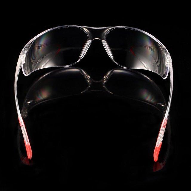 Bicicleta de segurança óculos de proteção transparente para ciclismo proteção do trabalho óculos de segurança soldador 4