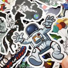 10/30/50Pcs Outer Space Astronaut Stickers Voor Reizen Koffer Skateboard Plakboek Bullet Journal Graffiti Sticker Kids diy Speelgoed(China)