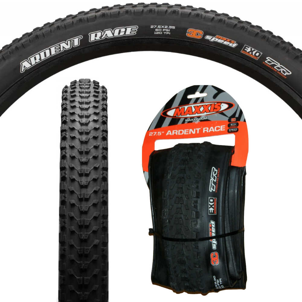 """Maxxis Ardent EXO Cut Resistant 26/"""" x 2.40 Mountain Bike MTB Bicycle Tyre"""