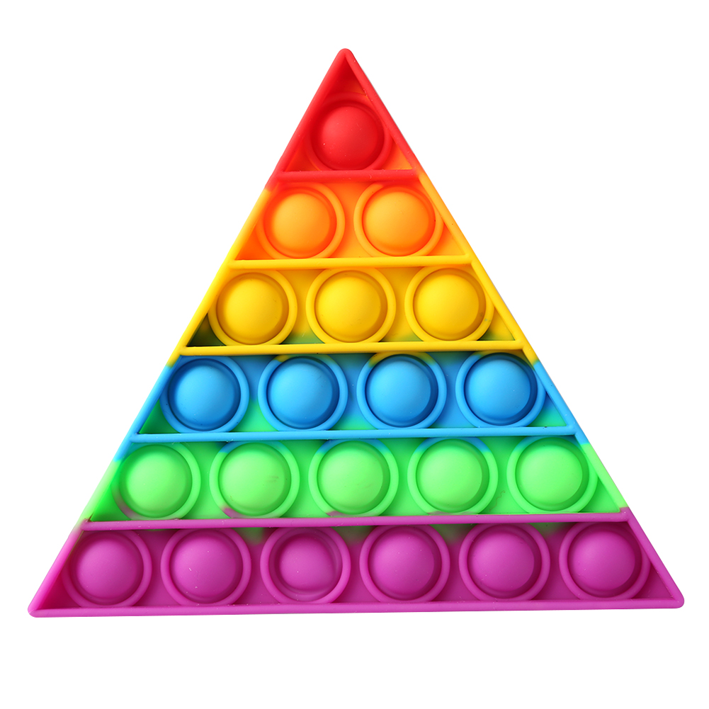 Decompression-Toys Puzzle Anti-Stress Push Bubbles Funny Triangle Safe Desktop Early-Education img2