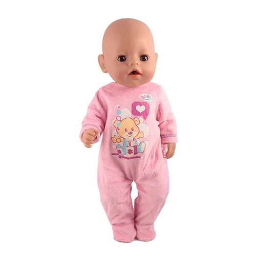 High Quality New Dress Doll Clothes Fit For 17 Inch Baby Dolls Clothes For 43cm New Born Aoll Accessory Baby Girl Gifts