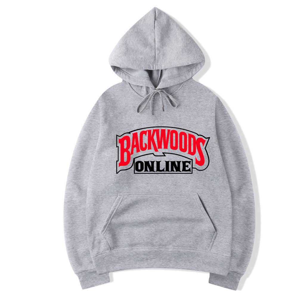 New Arrival Hoodies Streetwear Backwoods Hoodie Sweatshirt Men Fashion Autumn Winter Fleece Hoodie Pullover Hip Hop Street Style