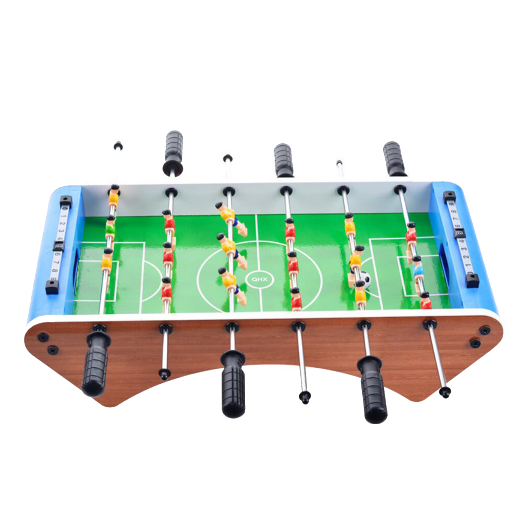 Table Top Soccer Game Set for Arcades Game Room Bars Toys 50x25x12.5cm