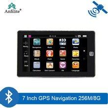 7 אינץ 800*480 קיבולי מסך משאית bluetooth אבין gps ניווט DDR 256M 8GB FM windows wince CE 6.0 רכב רכב navigator