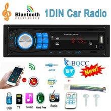 Autoradio 1DIN Car Radio Stereo In-Dash Bluetooth Audio TF/USB/AUX/FM Head Unit MP3 Player