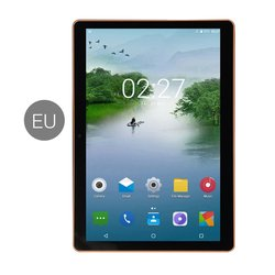 Pantalla IPS de 10,1 pulgadas Android 8,0 tableta de diez núcleos 6GB + 64GB ranuras para tarjetas SIM Dual 3G llamada telefónica con GPS FM