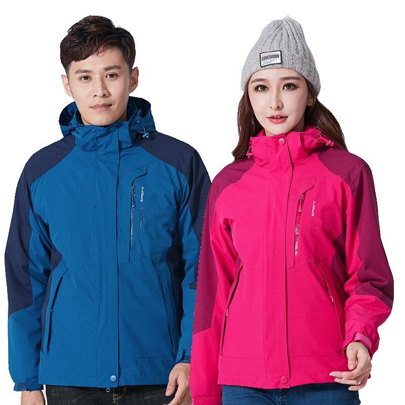 Vestes de Snowboard hommes et femmes imperméable coupe-vent veste de neige hiver épaissir chaud Ski costume Sports de plein air randonnée Ski Jacke
