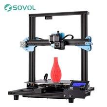 Sovol sv01 extrusora de acionamento direto da impressora 3d 280*240*300mm meanwell fonte de alimentação 95% pré-montado imprimante 3d