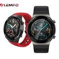 LEMFO Q8 Smartwatch 2021 für huawei uhr gt 2 pro GT 2e Android Bluetooth Anruf Smart Uhr Männer IPX7 Wasserdicht 30 tage Standby