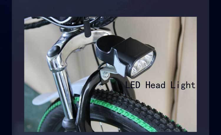 Canvas Battery Bag e bike 26 inch 350W Lithium Battery   Folding  Electric Bicycle E Bike 6