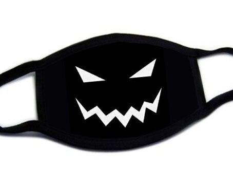 Fashion Cute Cartoon Face Mask Anti-proof Sun Protection Unisex Dust Mouth Mask Multi Style Anti-flu Cotton Facial Protective-H 2