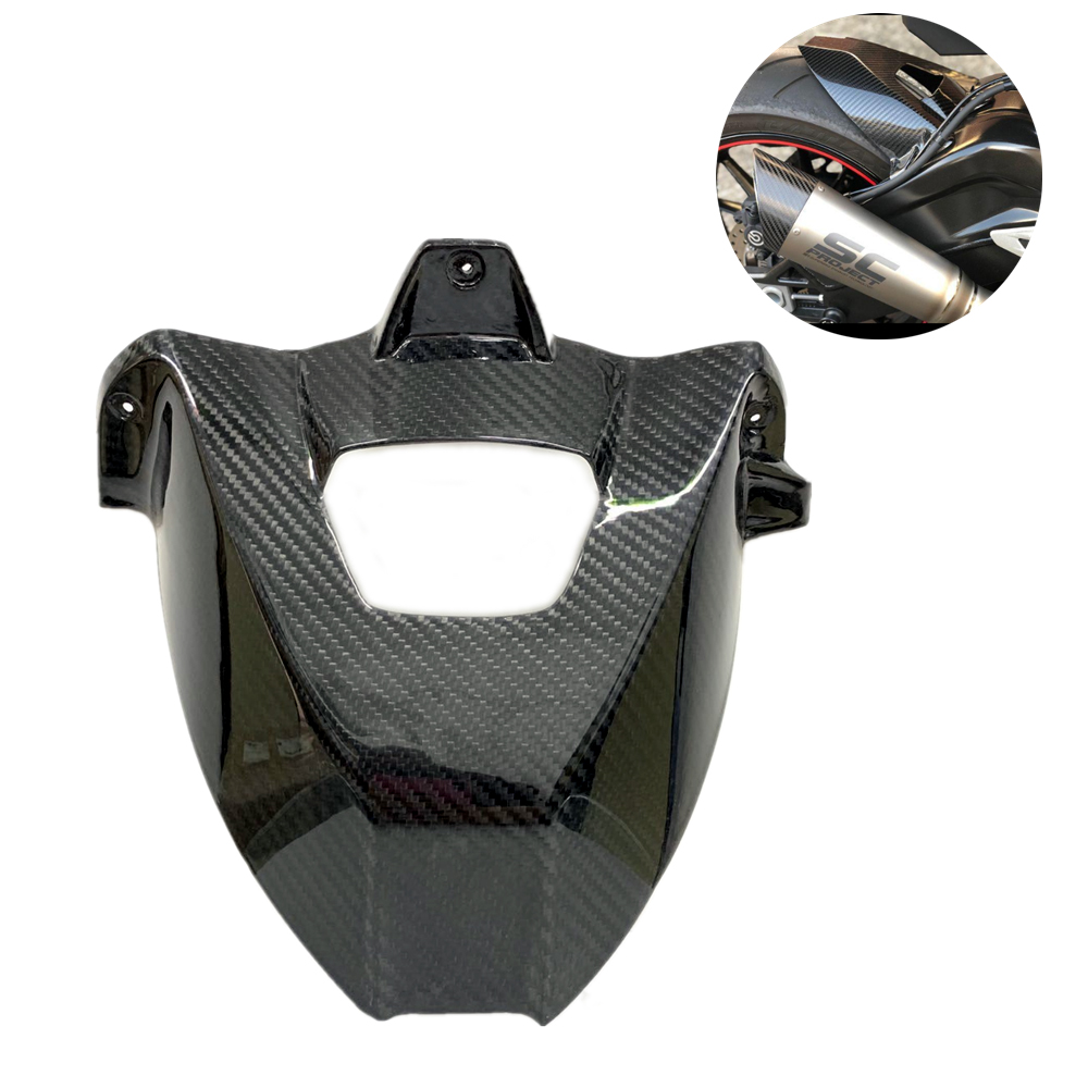 For Bmw S1000rr S1000r 2009-2018  Shell Full Carbon Fiber Rear Fender Mudguard For BMW S1000RR S1000R 12 13 14 15 2016 2017 2018