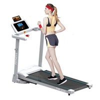 Household Smart Electric Foldable Treadmill Mini Running Trainner Jog Space Walk Machine Aerobic Sport Indoor Fitness Equipment