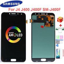 Супер amoled j400 ЖК экран для samsung galaxy j4 2018 j400f