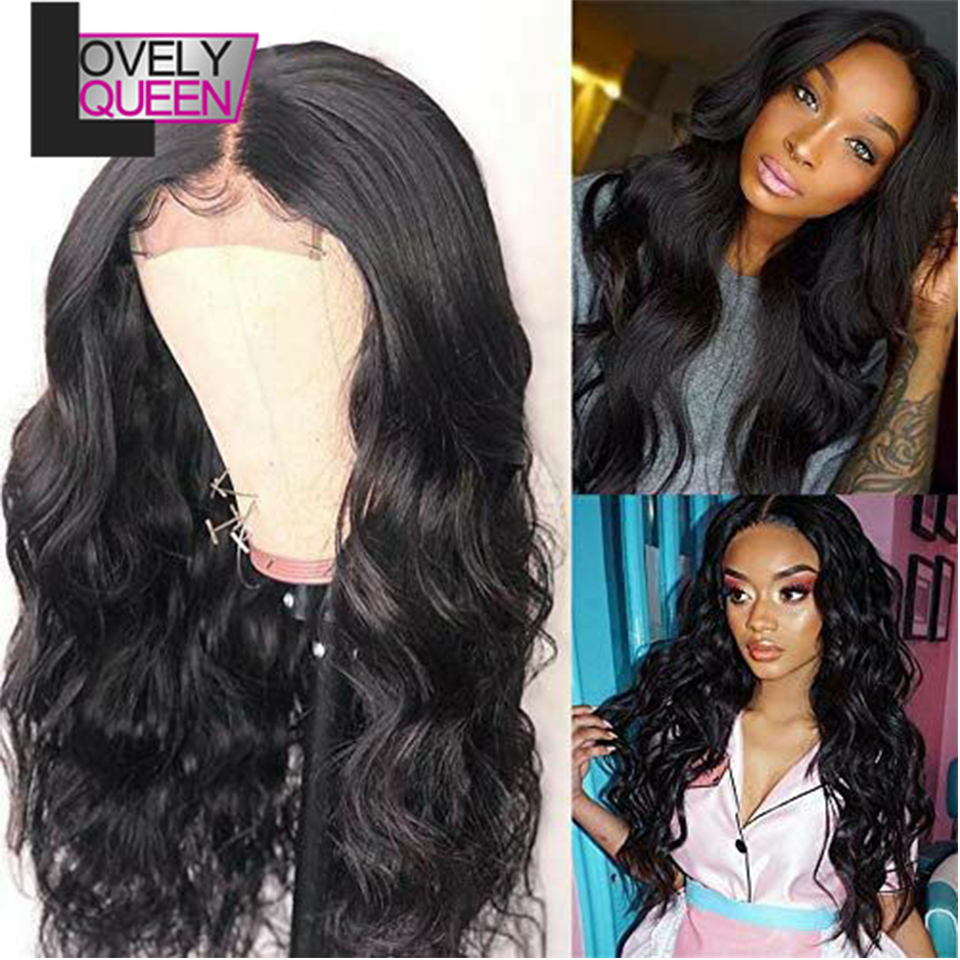 13x6 Lace Front Wig 200 Density Peruvian Body Wave Human Hair Wig Preplucked And Bleached Knots Undetectable Lace Wig