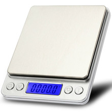 500g/0.01g Digital Scale Cooking Measure Tool Pocket Kitchen Scale Stainless Electronic Weight LCD Display Food Jewelry Scales new portable milligram digital scale 30g x 0 001g electronic scale diamond jewelry pocket scale home kitchen
